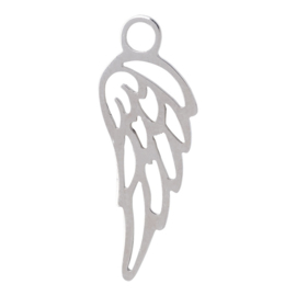 iXXXi Jewelry Charm Angel Wing Zilver