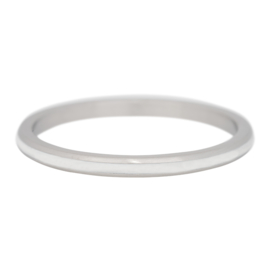 iXXXi Jewelry Line White Zilverkleurig 2mm