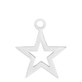 iXXXi Jewelry Charm Open Ster Zilver