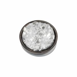 iXXXi Jewelry Top Part Drusy Crystal Zwart