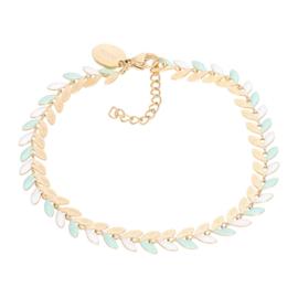 iXXXi Jewelry Bracelets Malediven Green Goudkleurig