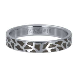 iXXXi Jewelry Vulring 4mm Panther Zilverkleurig