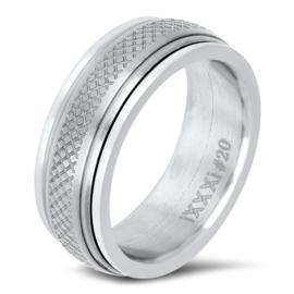 iXXXi Jewelry Men Combi Ring 3
