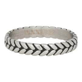 iXXXi Jewelry Leaf Knot Zilverkleurig 4mm