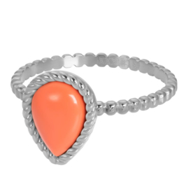 iXXXi Jewelry Vulring Magic Coral Silver