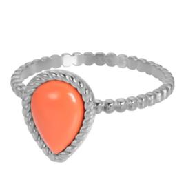iXXXi Jewelry Vulring Magic Coral Silver