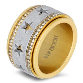 iXXXi Jewelry Zirconia Cristal Goudkleurig 2mm