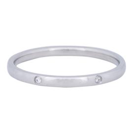 iXXXi Jewelry Elegance Zilverkleurig 2mm