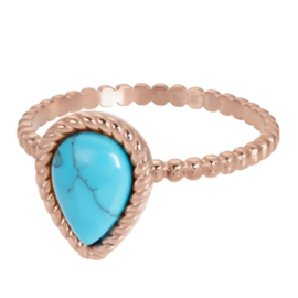 iXXXi Jewelry Vulring Magic Turquoise Rosé