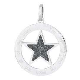 iXXXi Jewelry Hanger Ster Jeans Zilverkleurig ∅38