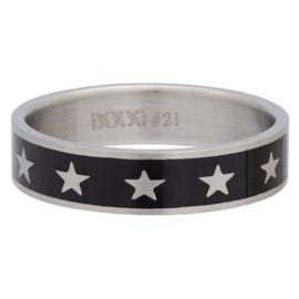 iXXXi Jewelry Men Big Star Mat 6mm