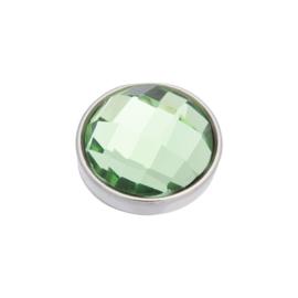 iXXXi Jewelry Top Part Facet Green Zilverkleurig