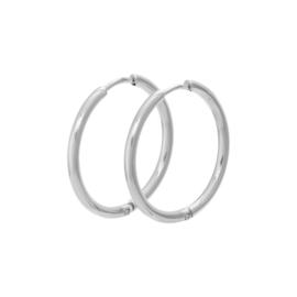 iXXXi Jewelry Creool 24 mm Zilverkleurig