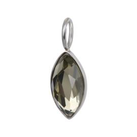 iXXXi Jewelry Charm Royal Diamond Crystal Zilverkleurig