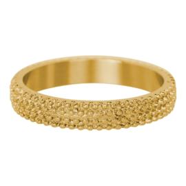 iXXXi Jewelry Kaviaar Goudkleurig 4mm