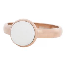iXXXi Jewelry 12mm White Stone Rosé 4mm