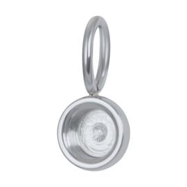 iXXXi Jewelry Charm Top Part Base Zilverkleurig