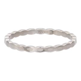 iXXXi Jewelry Vulring 2mm Oval Shape Zilverkleurig