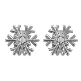 iXXXi Jewelry Oorbellen Snowflake Zilverkleurig