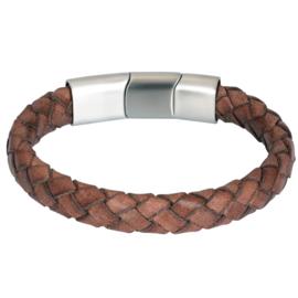 iXXXi Men Bracelet Miles Mat Zilver
