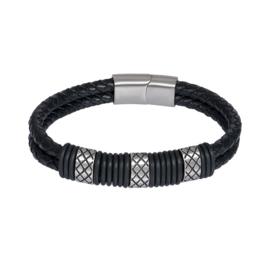 iXXXi Men Armband Casper Mat Zilver