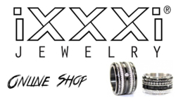 iXXXi Jewelry Basis Ring 8mm Zilverkleurig