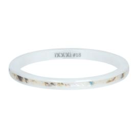 iXXXi Jewelry Vulring Ceramic Sand Shell 2mm