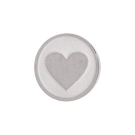 iXXXi Jewelry Top Changes Heart Zilverkleurig