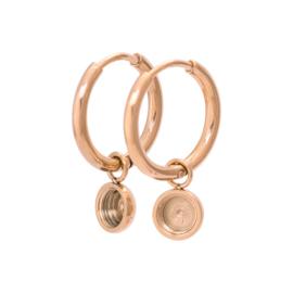 iXXXi Jewelry Top Part Creool 15mm Rosé