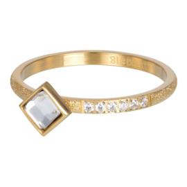 iXXXi Jewelry Vulring Lumi 2mm Goudkleurig