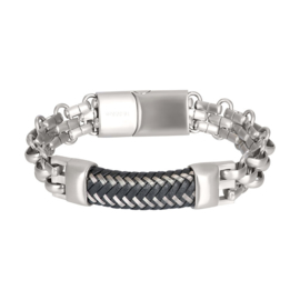 iXXXi Men Bracelet Grenoble Silver