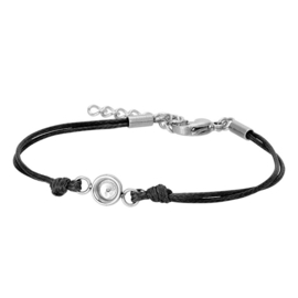 iXXXi Jewelry Top Part Anklet Wax Cord Black