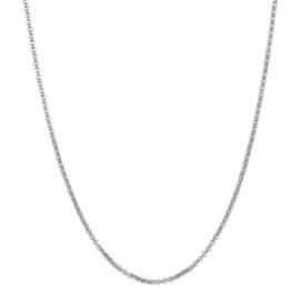 iXXXi Jewelry Ketting 3mm 80-100 cm Zilverkleurig