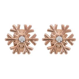 iXXXi Jewelry Oorbellen Snowflake Rosé