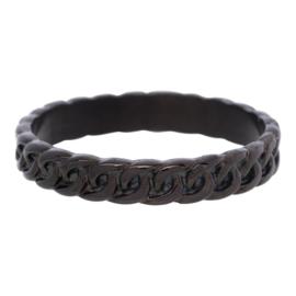 iXXXi Jewelry Curb Chain Zwart 4mm