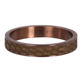 iXXXi Jewelry Vulring 4mm crocodile Bruin
