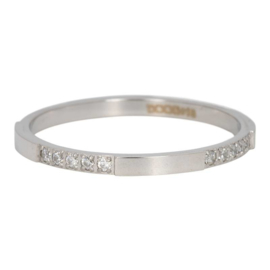 iXXXi Jewelry Vulring Chic 2mm Zilverkleurig