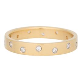 iXXXi Jewelry Zirconia 14 Steens Cristal Mat Goudkleurig 4mm
