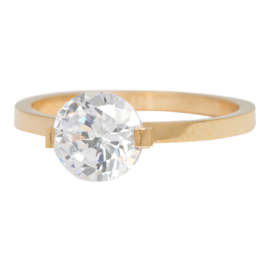 iXXXi Jewelry Glamour Stone Goudkleurig 2mm