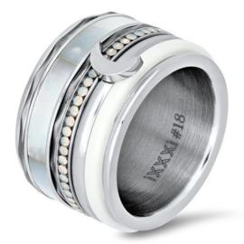iXXXi Jewelry Wave Zilverkleurig 1mm