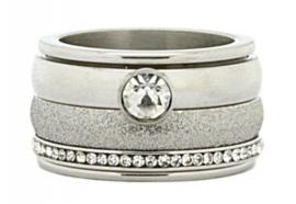 iXXXi Jewelry Zirconia Cristal Zilverkleurig 2mm