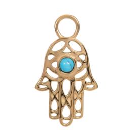 iXXXi Jewelry Pendant Hand Gold
