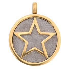 iXXXi Jewelry Pendant Glamour Star Goudkleurig