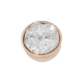 iXXXi Jewelry Top Part Drusy Crystal Rosé