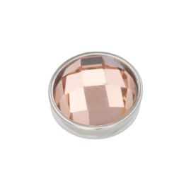 iXXXi Jewelry Top Part Facet Champagne Zilverkleurig