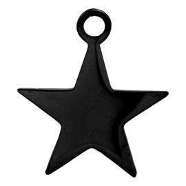 iXXXi Jewelry Charm Grote Ster Zwart