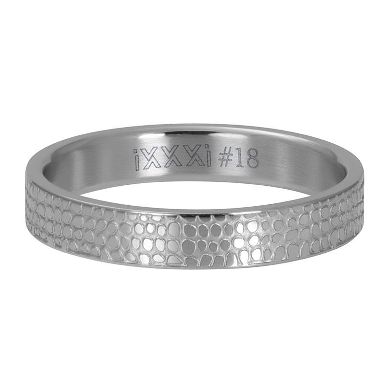iXXXi Jewelry Vulring 4mm Giraffe Zilverkleurig