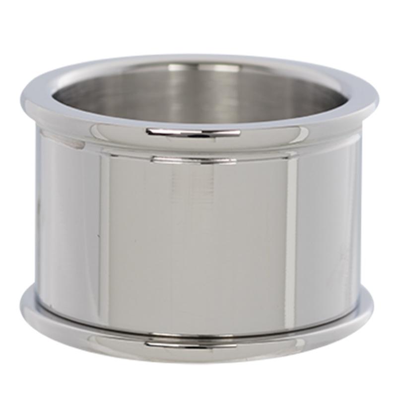 iXXXi Jewelry Basis Ring 14mm Zilverkleurig