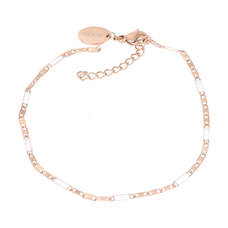 iXXXi Jewelry Bracelets Curacao White Rosé