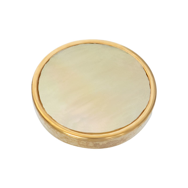 iXXXi Jewelry Top Part Yellow Shell Goudkleurig
